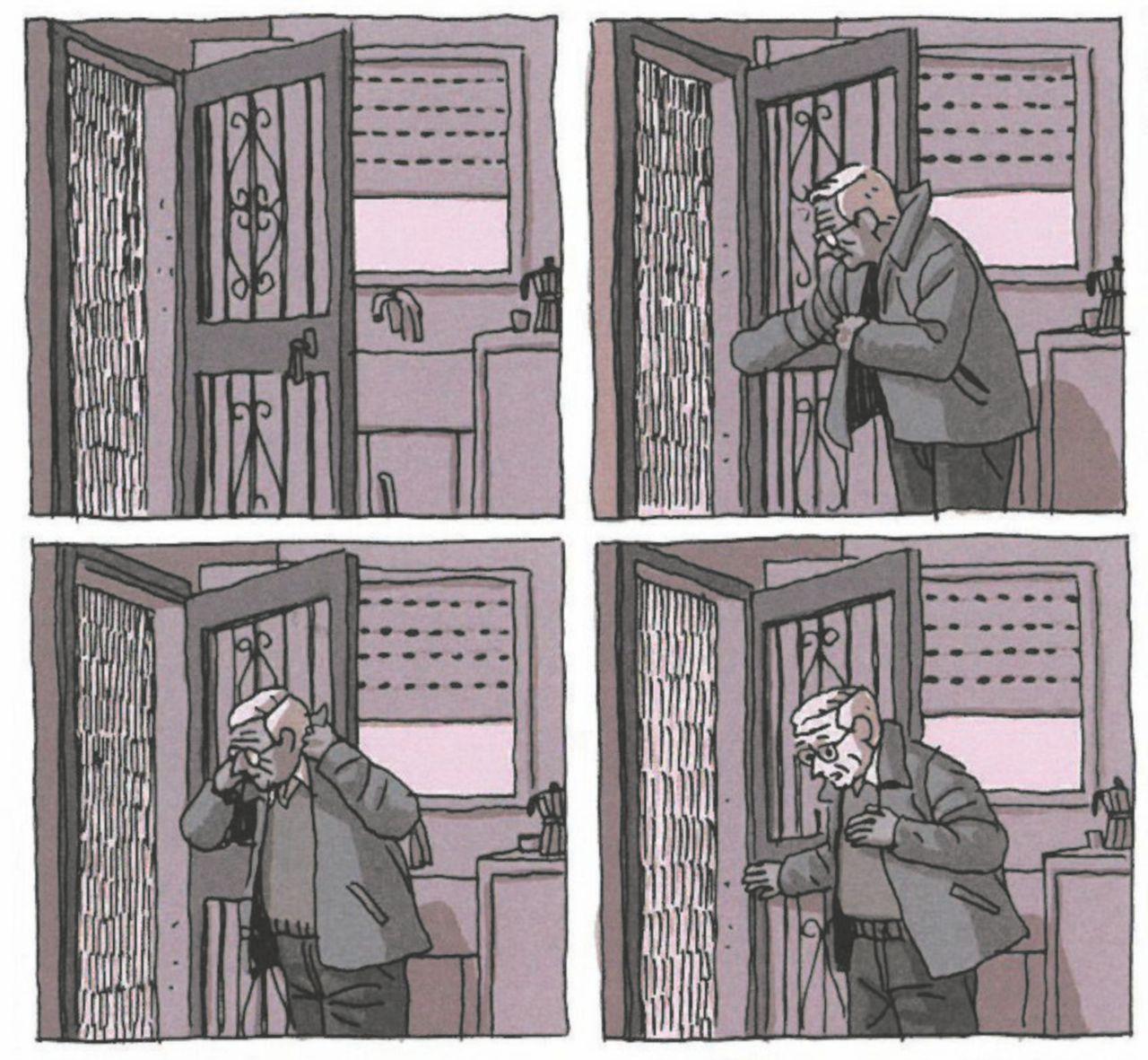 Non servono molte parole per raccontare, il fumetto può vivere anche di vignette mute