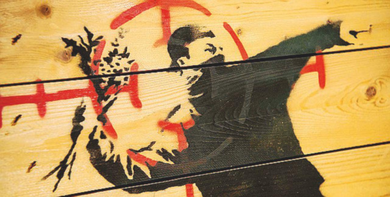 Arriva Banksy:  a Roma 150 opere del writer-icona