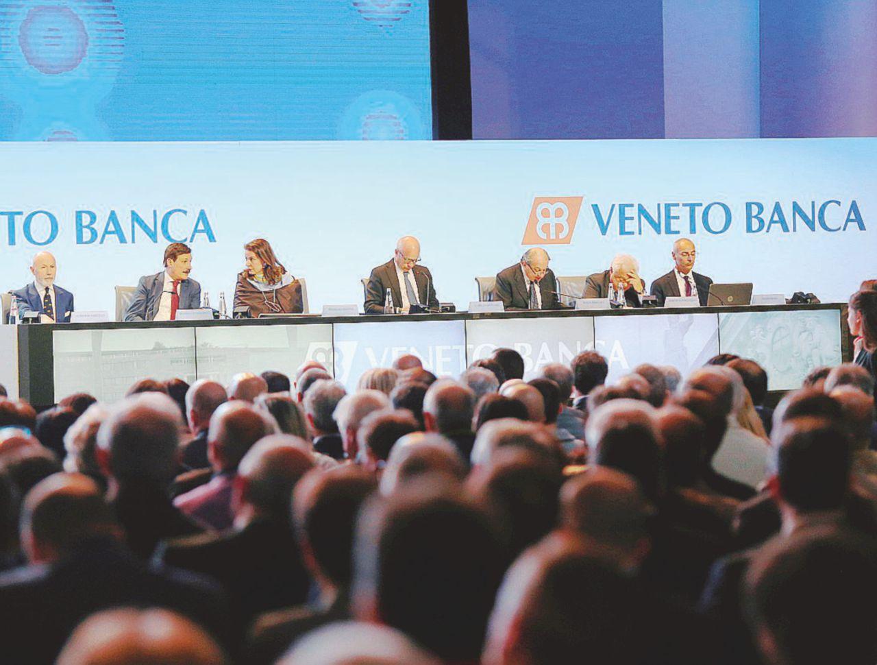 Ribaltone in Veneto Banca. Contro  ex vertici e  regole Ue