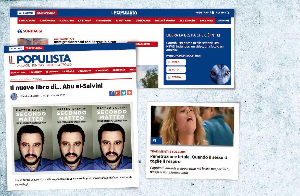 Il magico mondo di Salvini: viaggio in tuta anti-cazzate