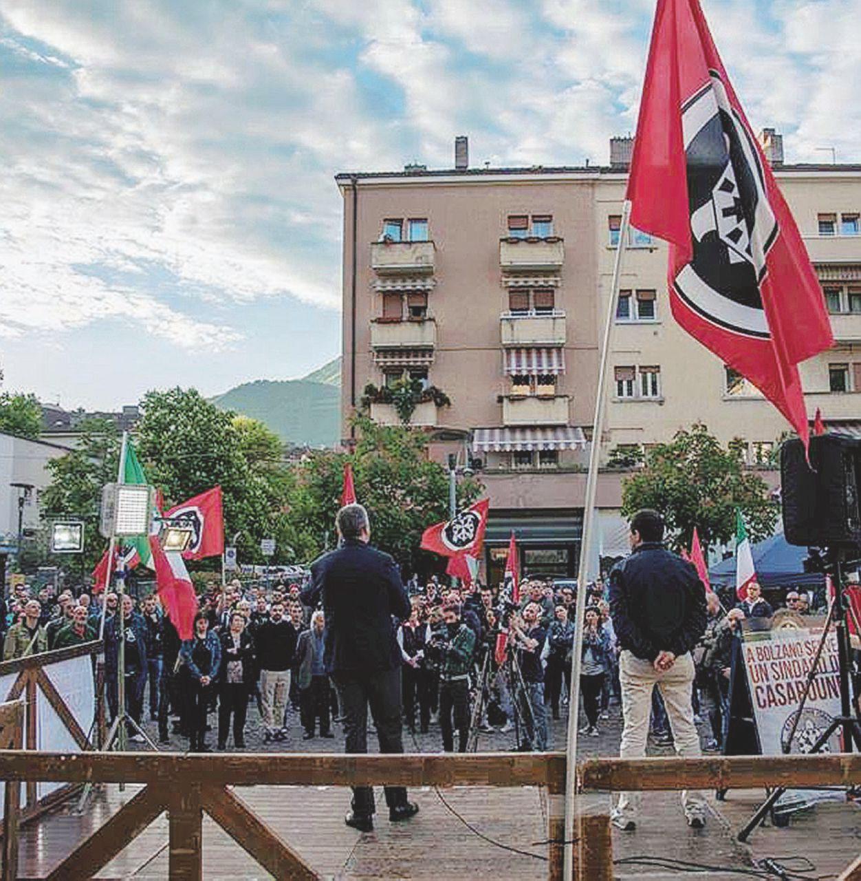 Con i migranti al Brennero CasaPound sfonda a Bolzano