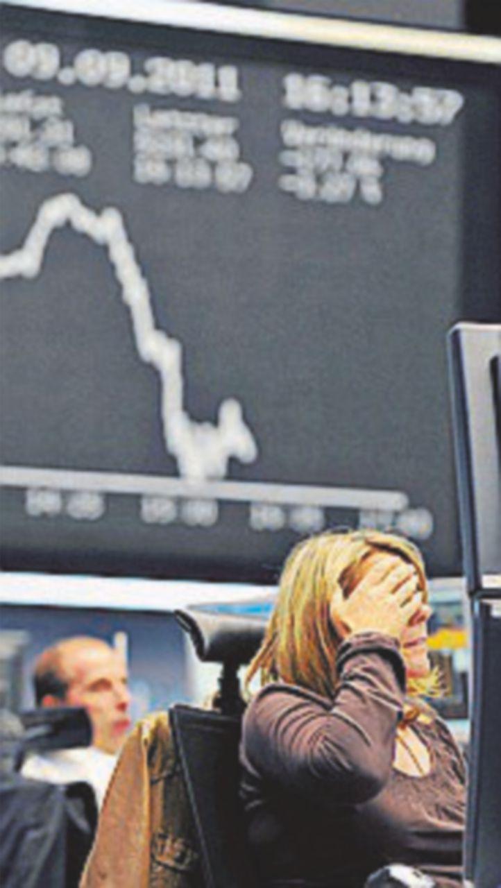 Ripartono i crolli  in Borsa:   giù Banco Popolare e Bpm