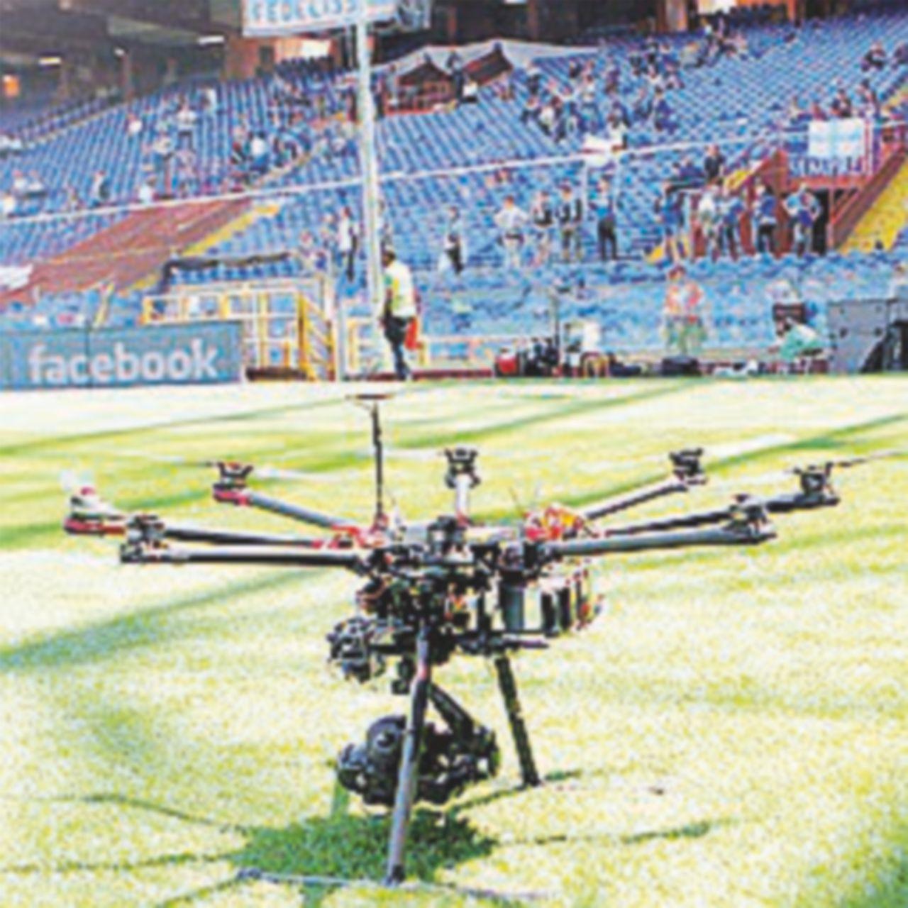 """""""No fly zone"""" per i droni sopra gli stadi dell'Europeo"""