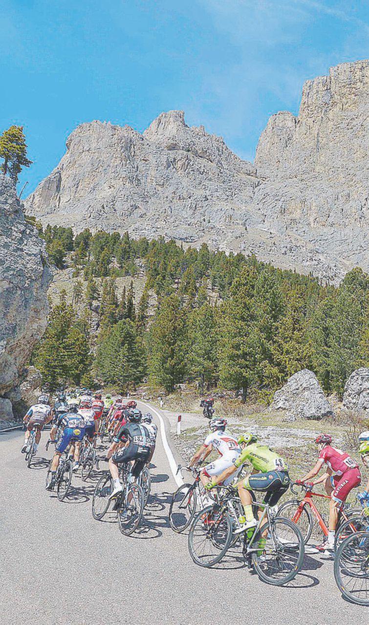 """Nibali sulle Dolomiti: assalto fallito al """"Giro meschino"""""""