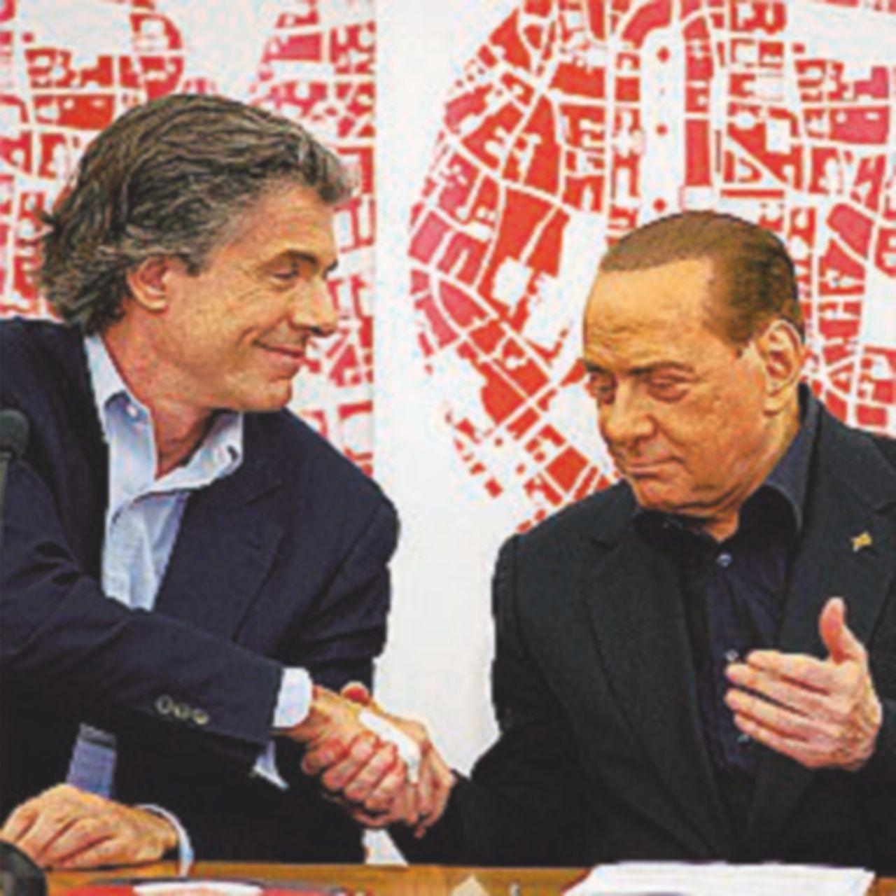 Marchini e B. fanno  squadra Meloni litiga su Almirante