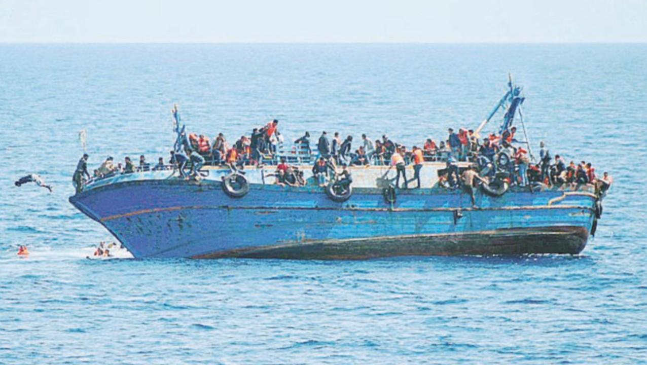 Dal mare alla terra, le paure mortali dei profughi