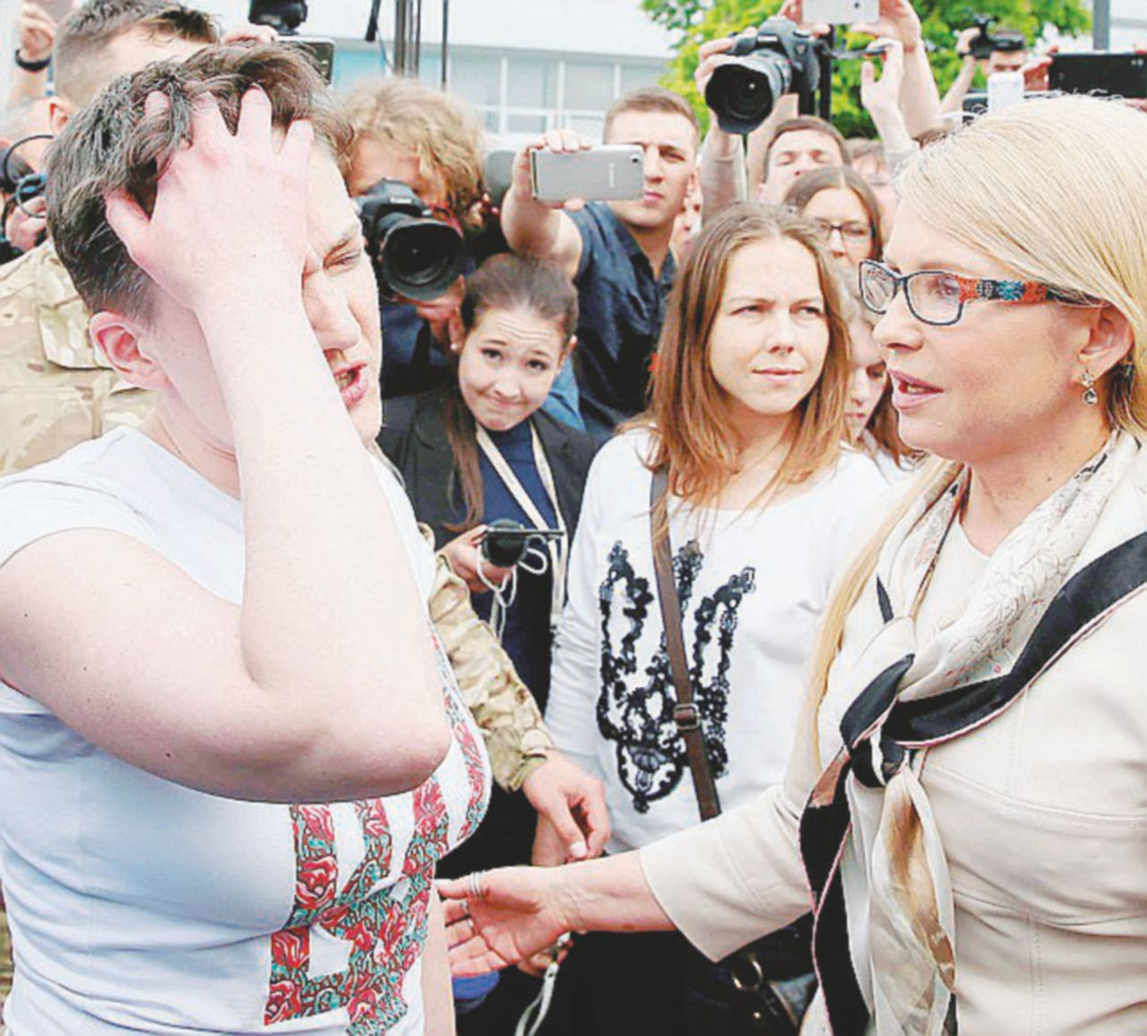 Nadia, l'eroina ucraina anti-Putin torna a casa