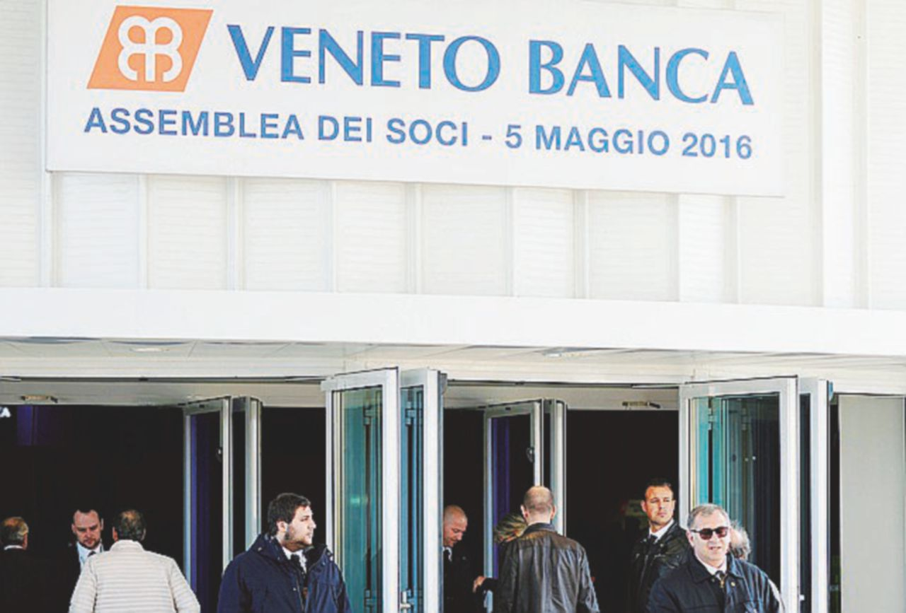 Veneto Banca, remake di Pop Vicenza: valeva 5 miliardi, ora 12 milioni