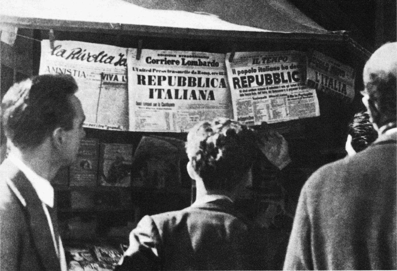 1946: l'Italia in macerie, tra fame e speranza, diventa una Repubblica