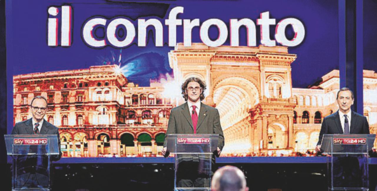 Confronto tra Parisi, Sala e Corrado: i soldi sono la vera differenza
