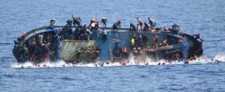 Libia, si rovescia barcone con 95 persone a bordo: due morti e 20 dispersi. Sopra anche donne e almeno nove bambini