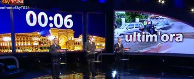 Elezioni Milano 2016, i candidati a confronto su SkyTg24. Per i telespettatori il più convincente è Sala