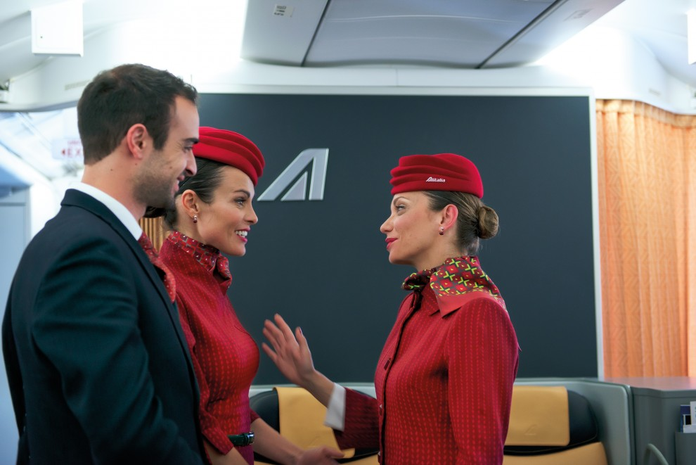 Nuove divise Alitalia