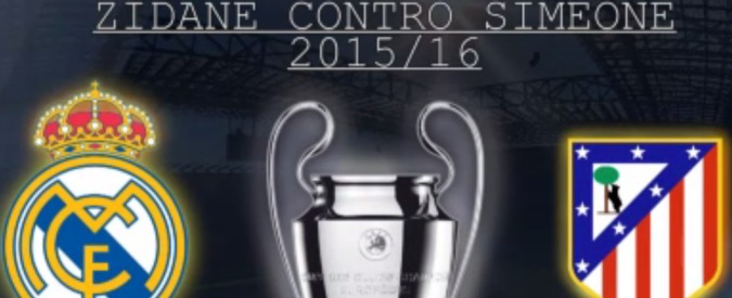 Finale Champions League 2016, Real Madrid e Atletico: il cammino vincente di Zidane e Simeone verso San Siro – Video