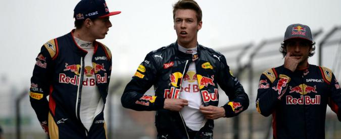 Formula 1, la Red Bull punisce Danil Kvyat: sostituito con Max Verstappen