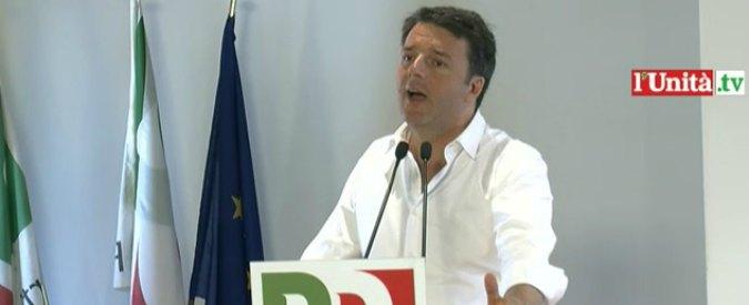 """Riforme, Renzi: """"Contro di noi guerriglie e minacce, ma noi non inseguiamo"""""""