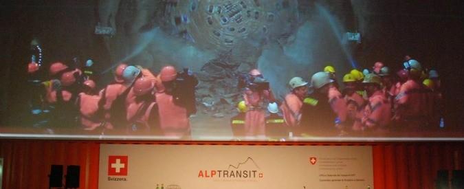Tunnel San Gottardo: i soldi degli svizzeri e l'inefficienza degli italiani
