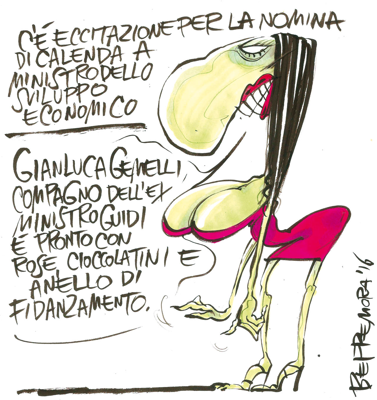 Vignetta Beppe Mora