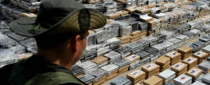"""Colombia, sequestro di 8 tonnellate di cocaina. Santos: """"E' il più grande della storia"""""""