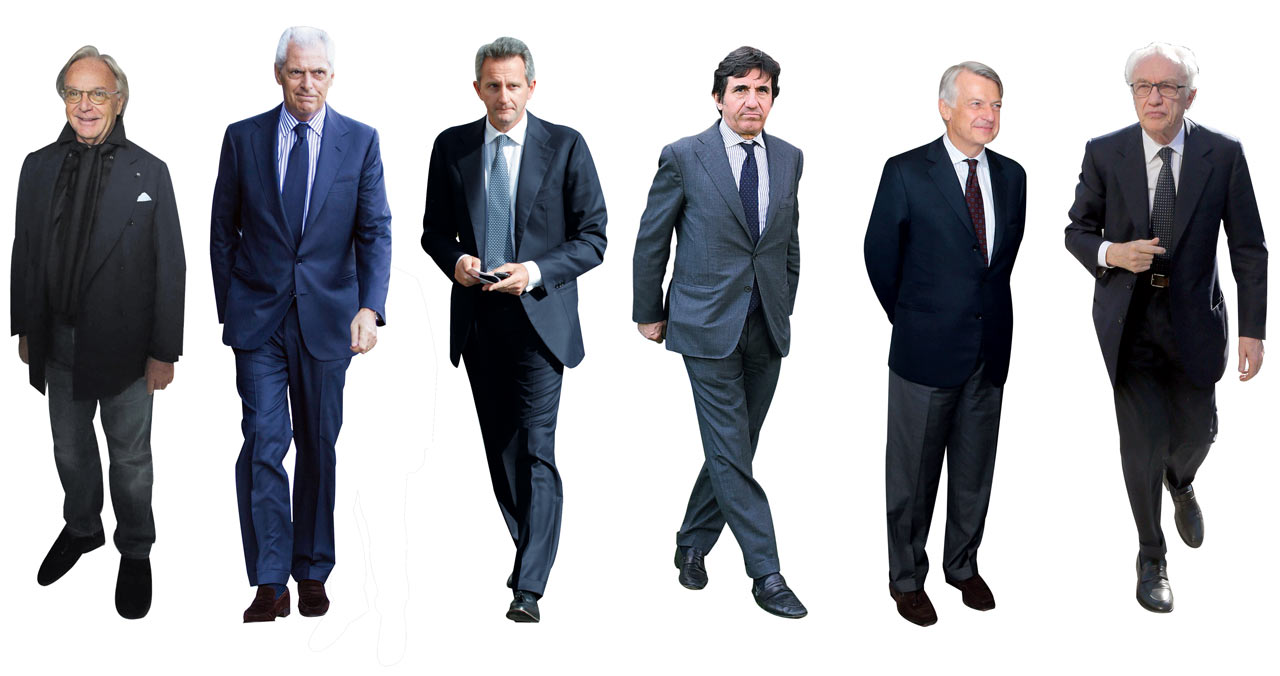 Il vecchio salotto   vuole consegnare  il Corriere a Renzi