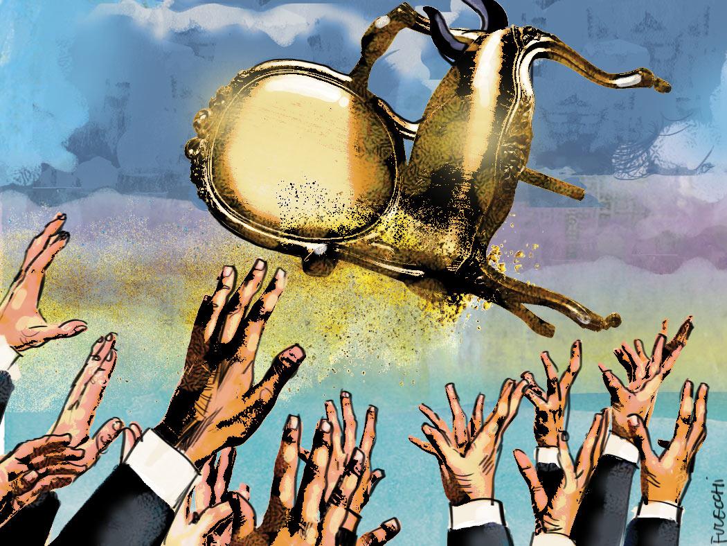 Il nuovo welfare della crisi. In 100 mila per un gettone