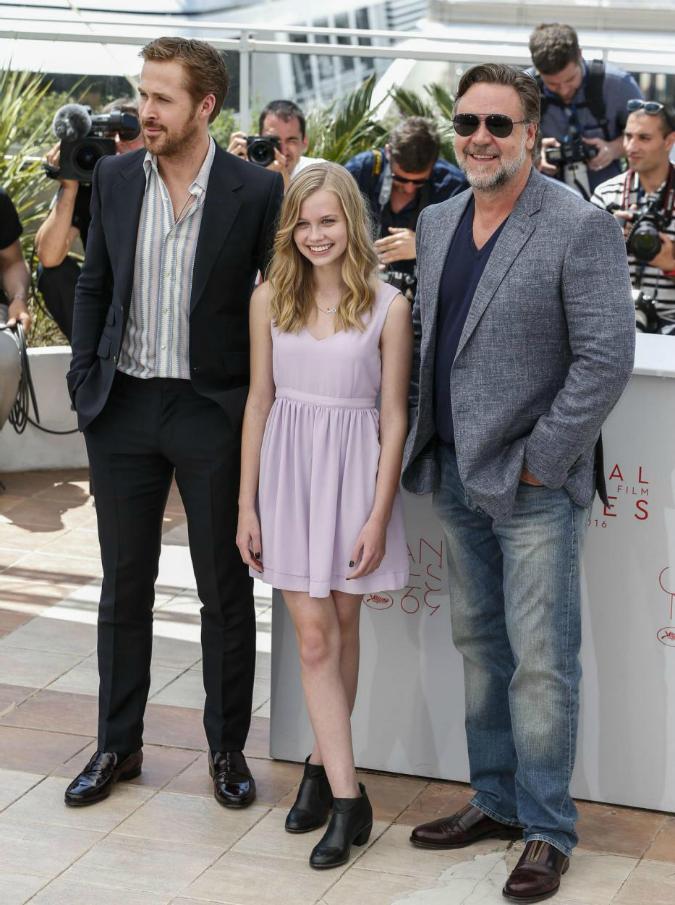 "Festival di Cannes 2016, Russel Crowe e Ryan Gosling: ""Noi come Bud Spencer e Terence Hill? Lusingati"""