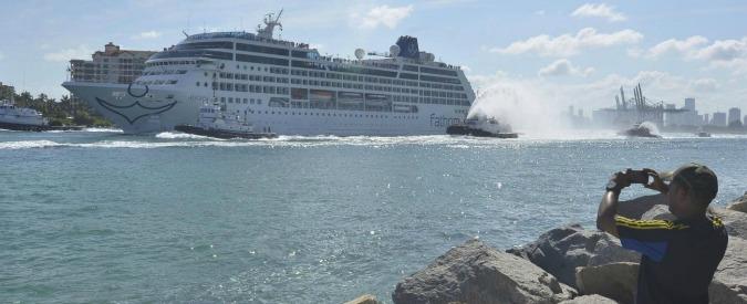 Usa-Cuba, prima crociera da Miami a L'Avana con 704 passeggeri