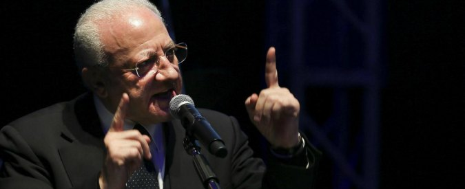 Caso Mastursi, pm di Roma chiedono archiviazione per il governatore De Luca