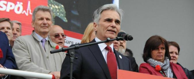 Austria, il cancelliere Werner Faymann si è dimesso dopo la sconfitta elettorale