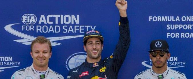 Formula 1, Gp di Monaco: Ricciardo in pole davanti alle Mercedes. Ferrari, 4° Vettel e penalità per Raikkonen