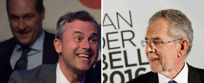 Elezioni Austria, Van der Bellen nuovo presidente con il 50,3% dei voti. Battuto il nazionalista Hofer