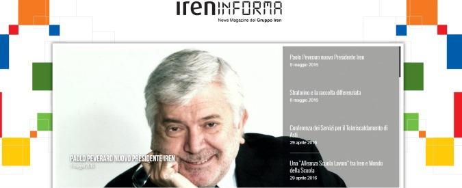 """Iren, esposto dei piccoli soci a Consob: """"Comune di Torino debitore di 190 milioni all'utility. Ha vantaggi indebiti"""""""
