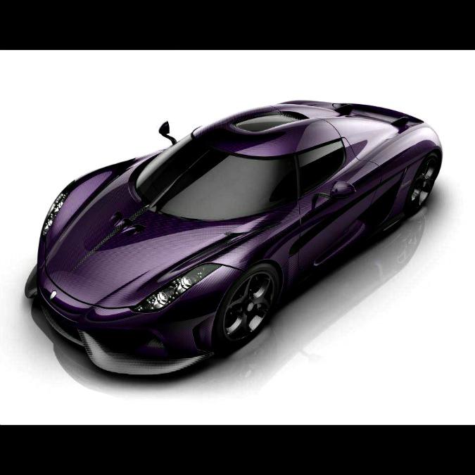 Koenigsegg Lila Regera, una supercar dedicata a Prince