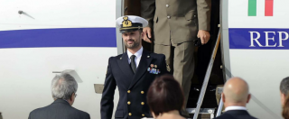 Marò, Salvatore Girone è atterrato a Ciampino. Ad attenderlo Pinotti e Gentiloni