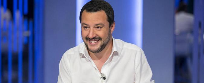 """Matteo Salvini: """"Ballottaggio Giachetti-Raggi? Voterei la Raggi"""""""