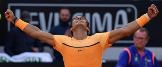 Internazionali d'Italia 2016, spettacolo Nadal: si sbarazza di Kyrgios in tre set e passa ai quarti di finale