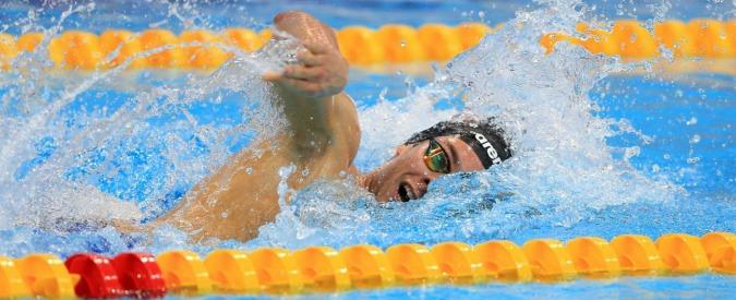 Gregorio Paltrinieri oro nei 1500 metri stile libero ai mondiali di nuoto di Budapest