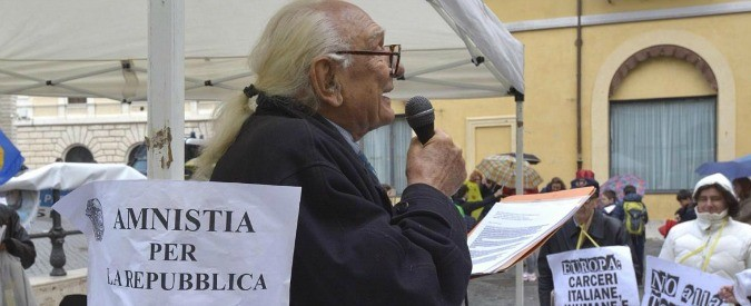 Marco Pannella, santo protettore dei detenuti
