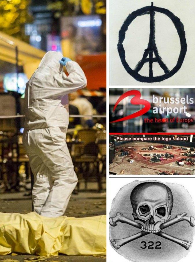 """Stragi in Europa, le teorie del complotto. Illuminati, feriti """"comparse"""" e """"false flag"""""""