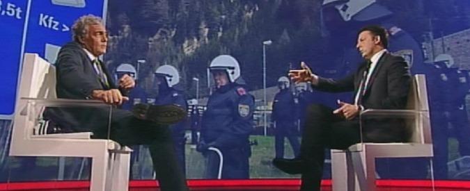 """Renzi: """"Verdini è un problema del M5s. Io vado solo al concreto. Pd partito di delinquenti? Leader M5s e Fi condannati"""""""