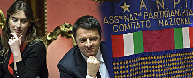 """Referendum riforme, l'Anpi e la resistenza al Pd che da mesi vuole che i partigiani """"cambino verso"""""""