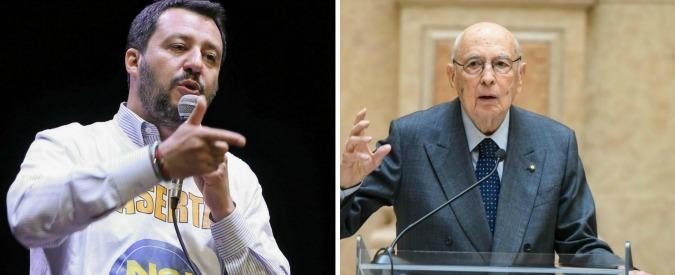 """Lega Nord, Salvini: """"Noi xenofobi? Napolitano straparla, dovrebbe essere ricoverato"""". I parlamentari: """"Lo denunciamo"""""""