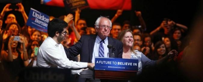 Bernie Sanders, una lezione di democrazia. 'La globalizzazione non opera in favore della maggioranza'