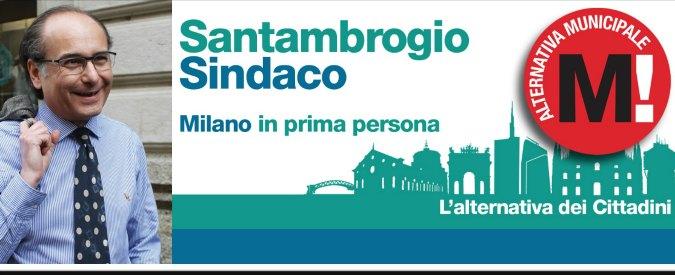Elezioni Milano 2016, il candidato sindaco Luigi Santambrogio non paga 10mila euro di spese condominiali