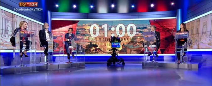 Elezioni Roma 2016, il confronto su SkyTg24. Scintille su Mafia Capitale, Raggi vince il voto del pubblico