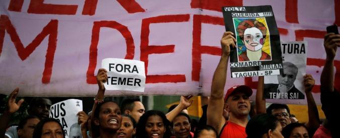 """Brasile, ministro del governo Temer lascia incarico. Registrato diceva: """"Via Rousseff per rallentare indagini su Petrobras"""""""