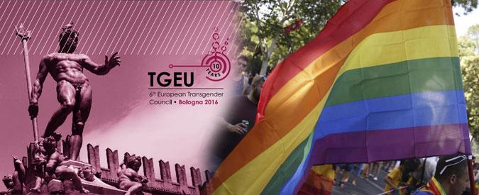 """Transgender, a Bologna dal 2 al 5 giugno il sesto Consiglio europeo: """"Occasione unica per l'Italia"""""""