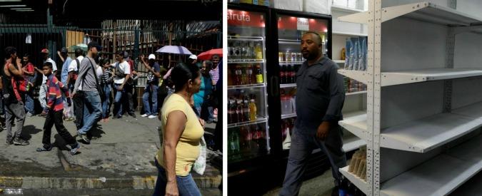 """Venezuela al collasso: supermercati vuoti, niente farmaci e black out. Maduro: """"Ci fanno la guerra come con Allende"""""""