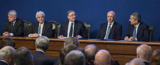 Ignazio Visco, Bankitalia e lo slalom tra i problemi