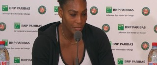 "Roland Garros 2016, Serena Williams: ""Trump? Lo conosco ma…"""